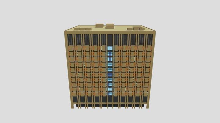 Edmonton- Toll- Bldg-2021-v3-for-export 3D Model