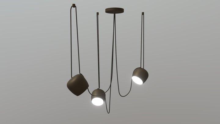 Aim Pendant Light 3D Model