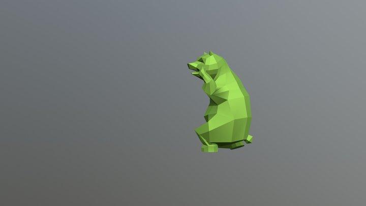 Samba Bear 3D Model