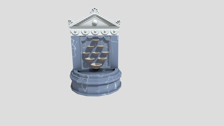 Fountain- Selsebil 3D Model