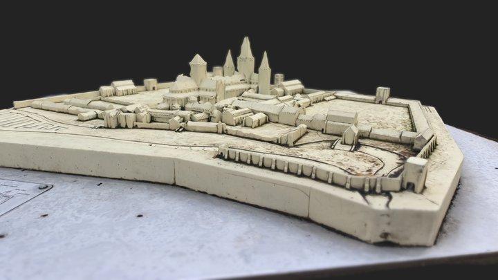Bury St Edmunds Abbey - MiniMap 3D Model