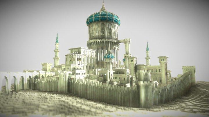 Persian City Aldrasin 3D Model