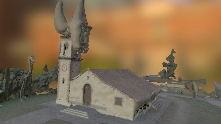 Pilar Velho 3D Model