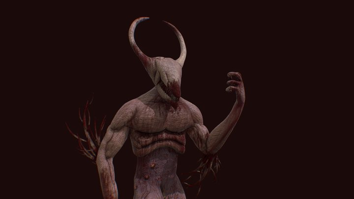 Demon from Hell 3D Model