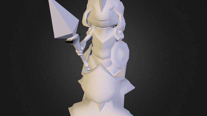 Deadlock Tower 3D Model