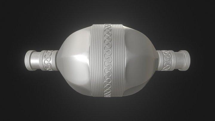 Turkmen Bead 3D Model