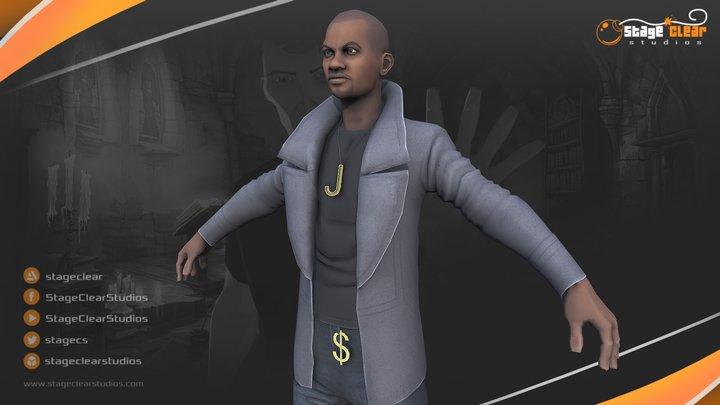 Julius - Yesterday Origins 3D Model