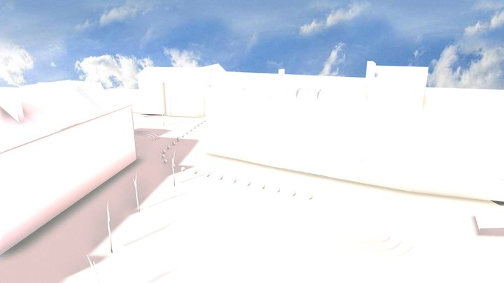 Tralee Town Square 3D Model