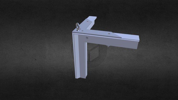 Ref: 761 1490, FH Bolt-Thru Corner Top 3D Model