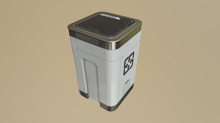 Sci Fi Props 2 DOOM Fan Art 3D Model