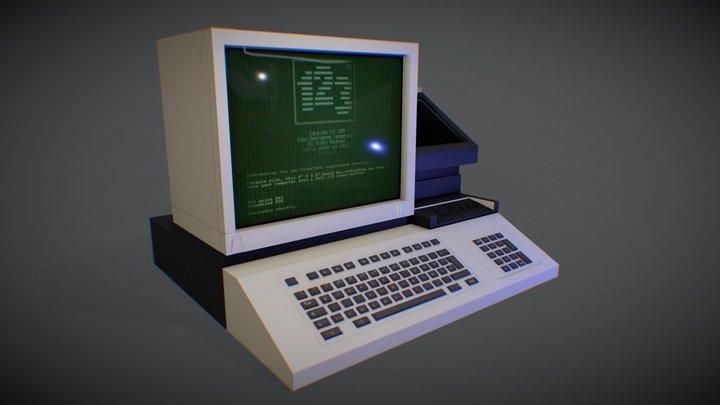 90s PC 3D Model