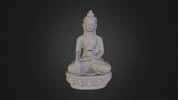 Buddha healing 3D Model