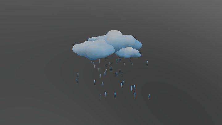 Rain 1 3D Model