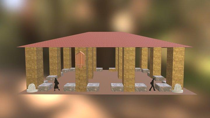L'ancienne Halle aux Poissons d'Aix-en-Provence 3D Model