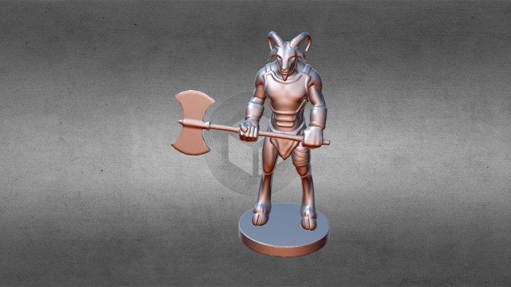 Goat Beast 3D Model