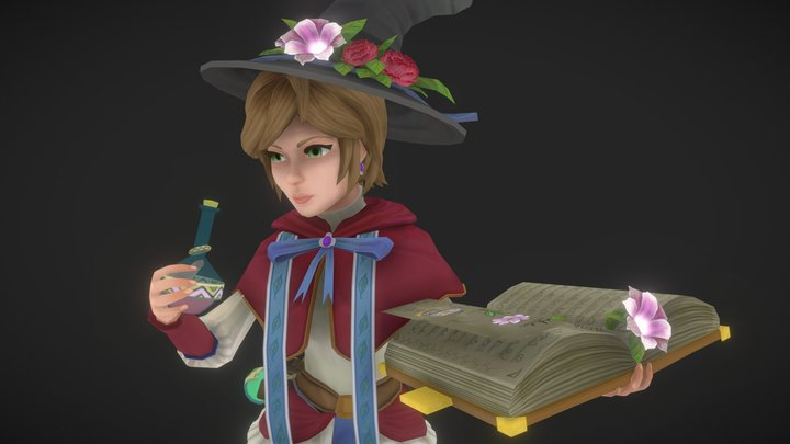 Happy Alchemist 3D Model