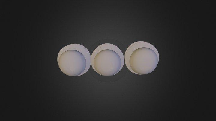 יונס דימה - בקבוקים אסמבלי פארט 3D Model
