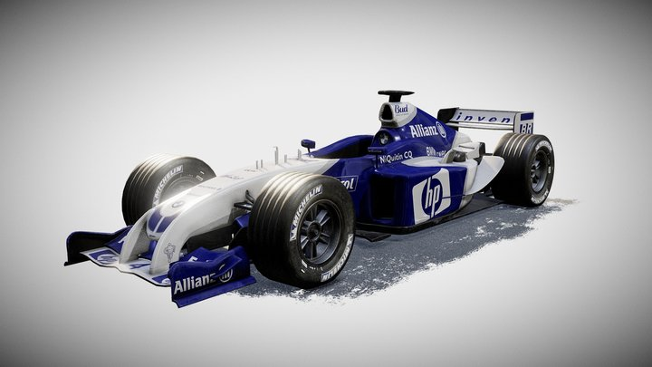 Formula 1 Williams FW26 3D Model