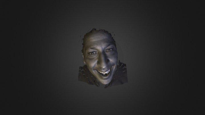 Smaïn, comédien français 3D Model