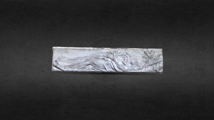La mise au tombeau du Christ 3D Model