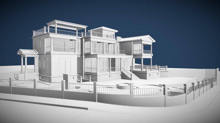 B G House 3D Model