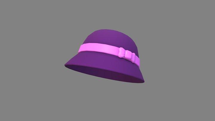 Cloche Hat 3D Model