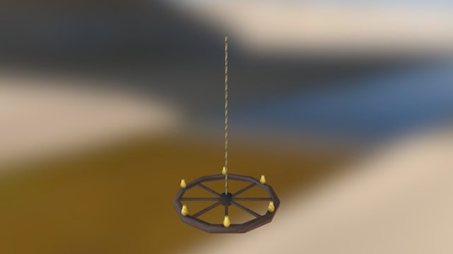 lampara 3D Model