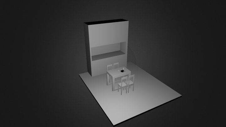Kitchen ver3 3D Model