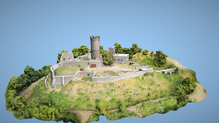 Ruine Mühlburg 3D Model
