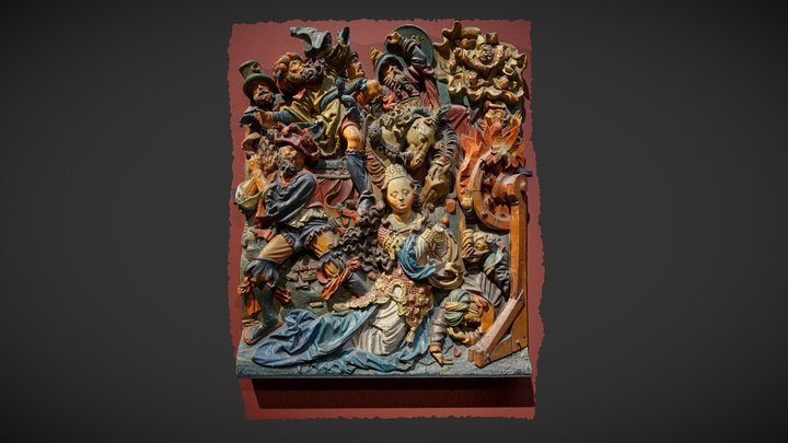 The Martydom of St.Catherine 3D Model