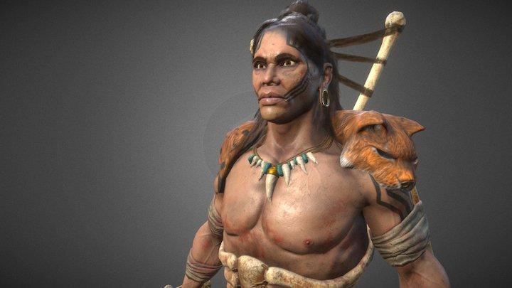 Murlac - game character - Artstation Challenge 3D Model