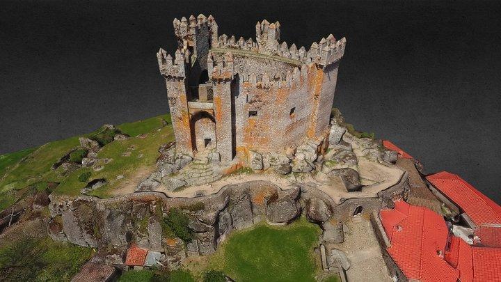 Château de Penedono, Portugal 3D Model