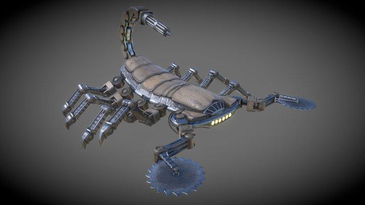 R07-Scorpionuaght 3D Model