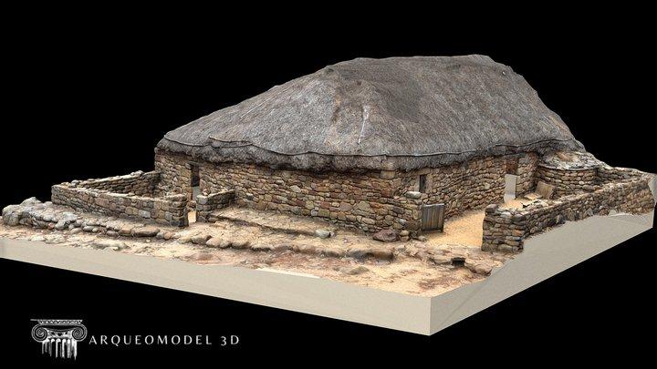 Numancia - Casa Romana epoca Imperial 3D Model