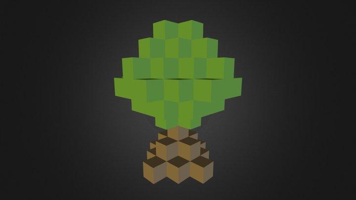 BucketFillBush 3D Model