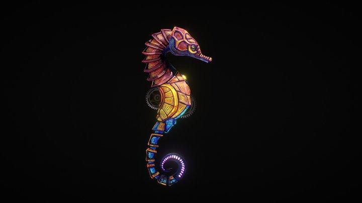Nebula Hippocampus 3D Model