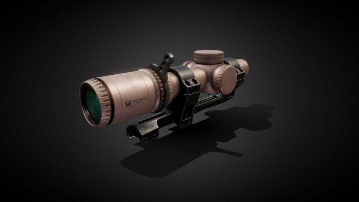 Vortex Razor HD Gen3 scope 3D Model