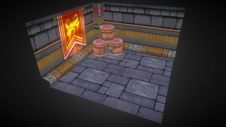 Texture Painting for class 3D Model