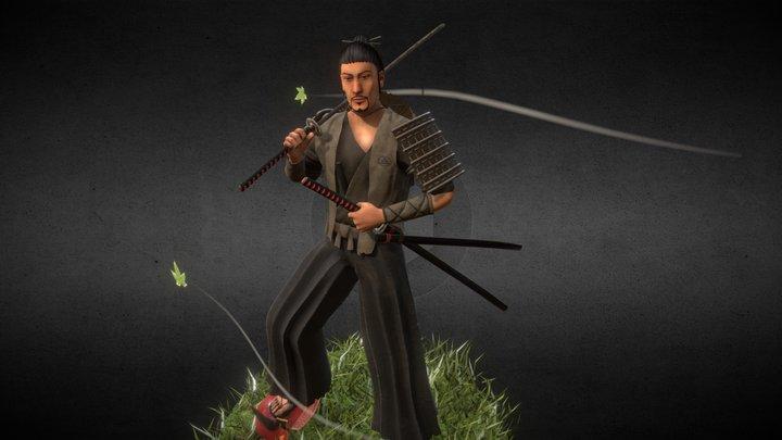 Ronin: Drifter Outfit 3D Model