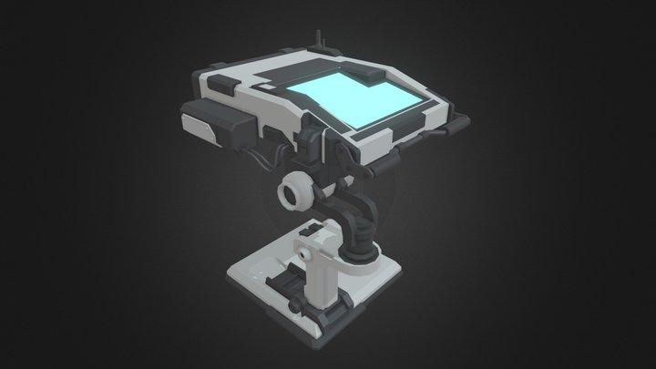 Console Draft 3D Model