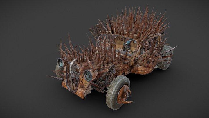 Plymouth Rock 3D Model