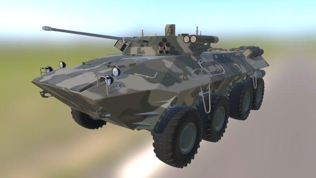 BTR 90 3d Model 3D Model