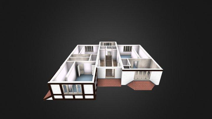 Second floor exsample1 3D Model