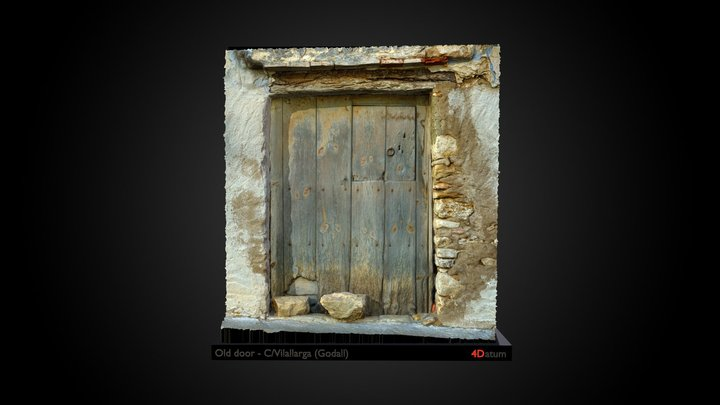 Old door - Godall 3D Model