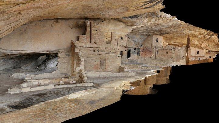 Mesa Verde National Park 3D Model