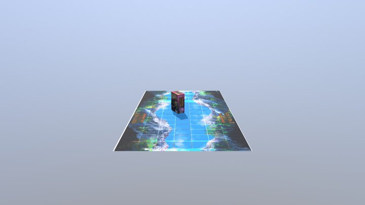 Immortal Paths Card Packaging 3D Model