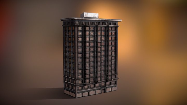 Chicago Savings Bank Building 3D Model