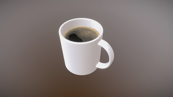 Coffee Mug (School Project) 3D Model