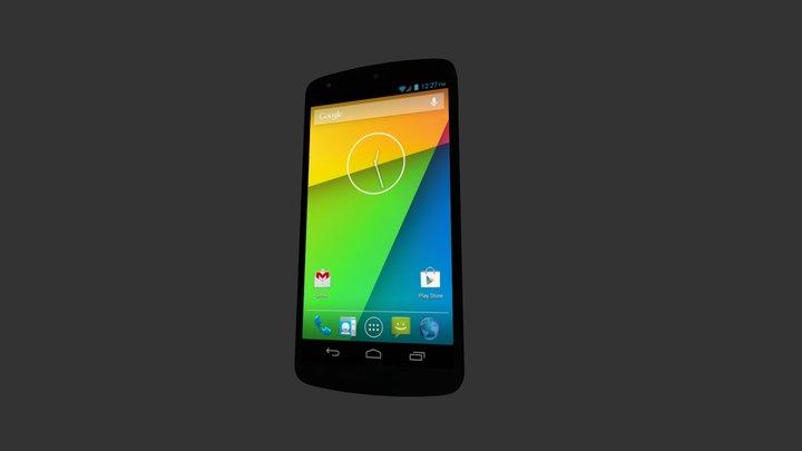 LG Nexus 5 3D Model