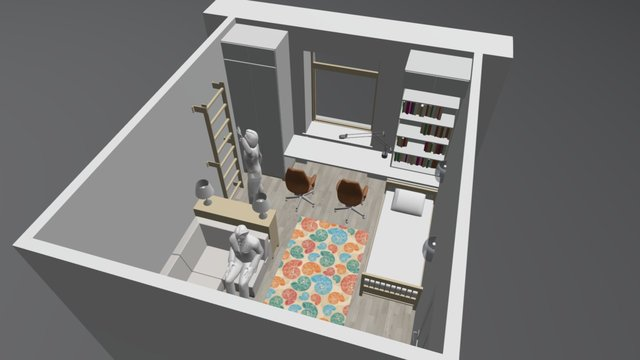 DETSKAYA_OPT 2 3D Model